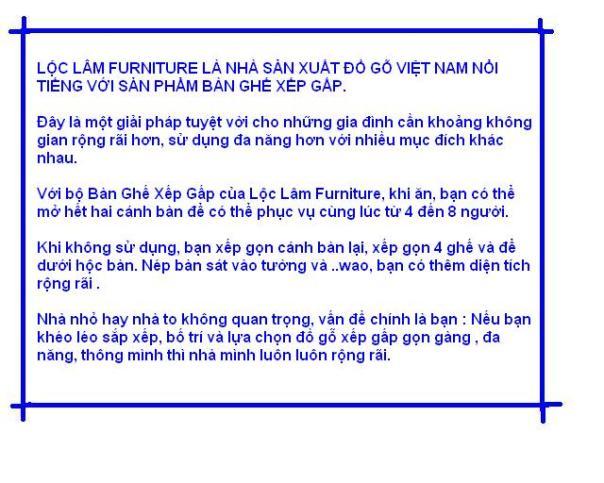 Ban Ghe Xep Gap